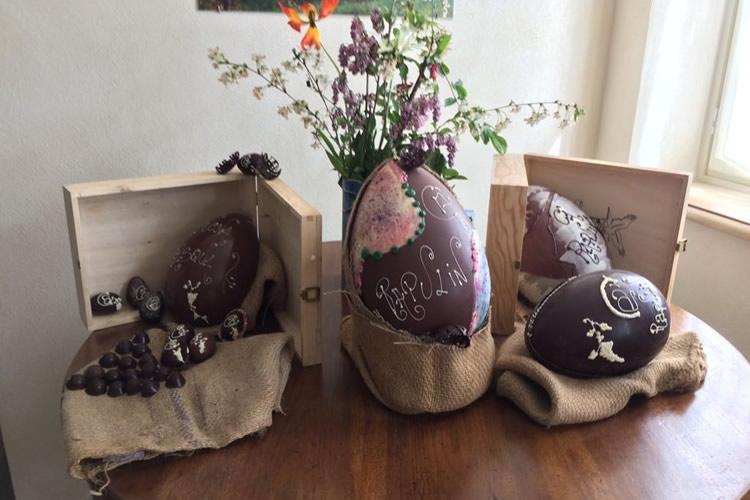 L'Accademia dell'uovo di cioccolato.