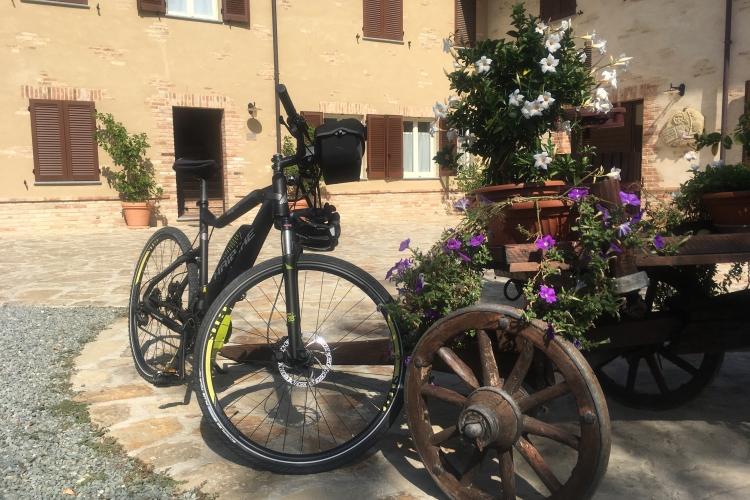 E bike.